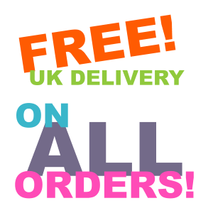 Free UK Delivery on ANY size order! Big or Small!