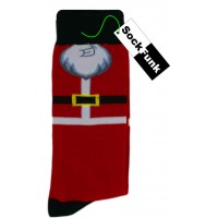Santa's Beard Christmas Socks