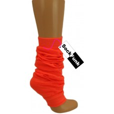 Funky Leg Warmer - Neon Orange