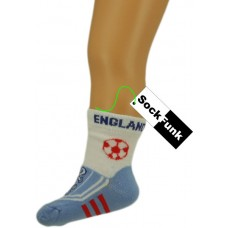 Football Design Ankle Socks England Football Boot Design