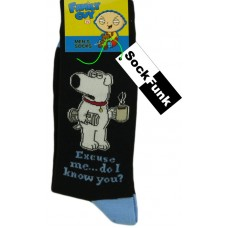 Family Guy Socks - Brian Griffin with Coffee