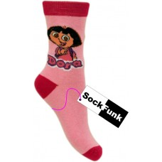 Dora The Explorer Socks- Light Pink