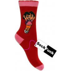 Dora The Explorer Socks- Red