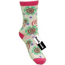 Flower Design Sock