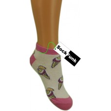 Ice Cream Design Trainer Sock
