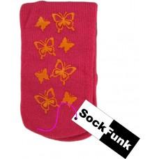 Slipper Socks - Butterfly Design