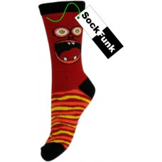Sock Monster! Raging Red Ronnie!